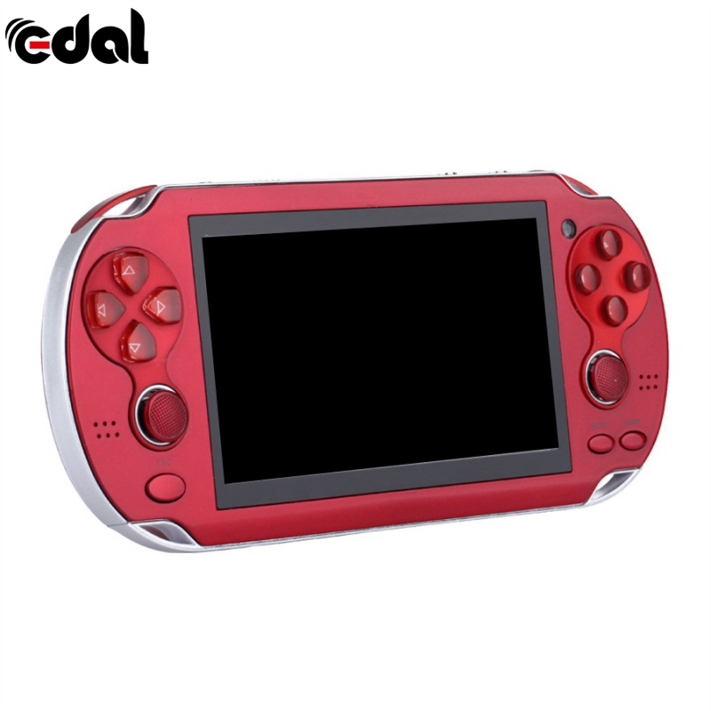 New 4 3 Inch Ultra-Thin 64 Bit Handheld Game Players 8GB Memory MP5 Video  Game Console 1000 Kinds Multimedia classic Games