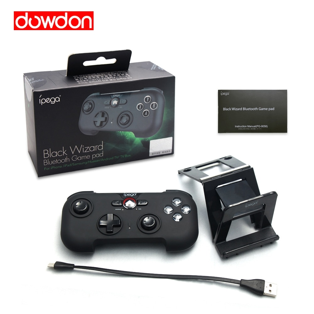 Professional iPEGA PG-9058 Wireless Game Controller Gamepad Joystick for  IOS Android Smartphone Tablet TV Box